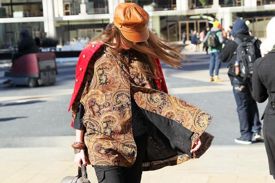 New York Fashion Week Street Style: 9 Febbraio