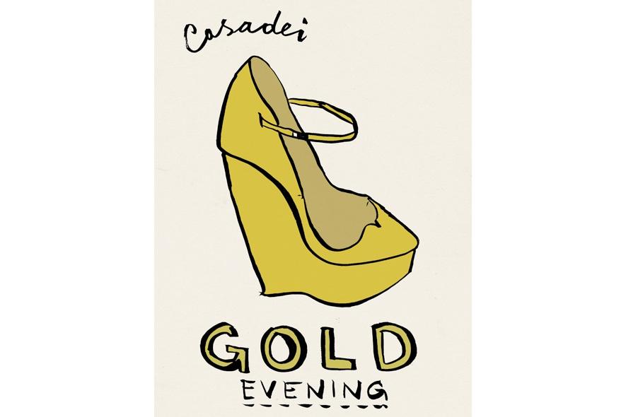 tweet gold evening