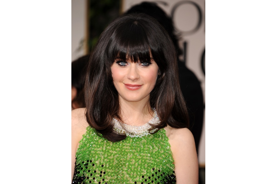 zooey deschanel golden globe
