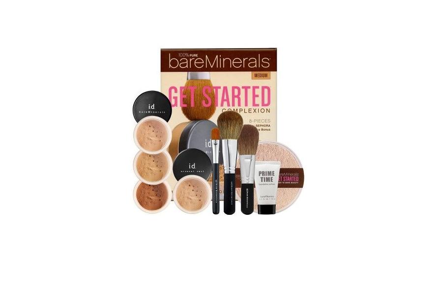 Dedicato alle neofite: tutto il necessario per realizzare un perfetto make-up viso con il kit Get Started by bareMinerals