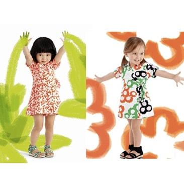 Diane Von Furstenberg e la collezione per Gap baby