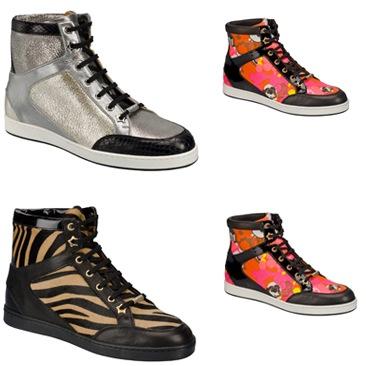 Le luxury sneakers di Jimmy Choo