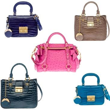 Miu Miu e le borse preziose