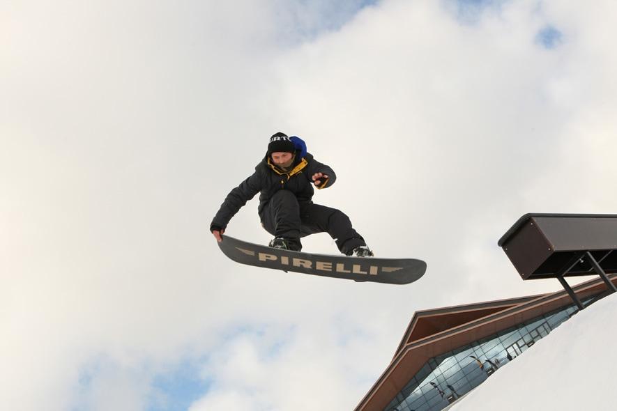 "A San Pietroburgo con Pirelli ""Snow on Board"""