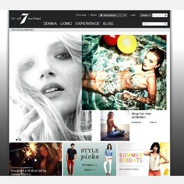 Pronte per l'e-shop di 7For All Mankind?