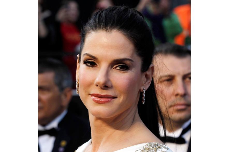 Un viso luminoso quello di Sandra Bullock