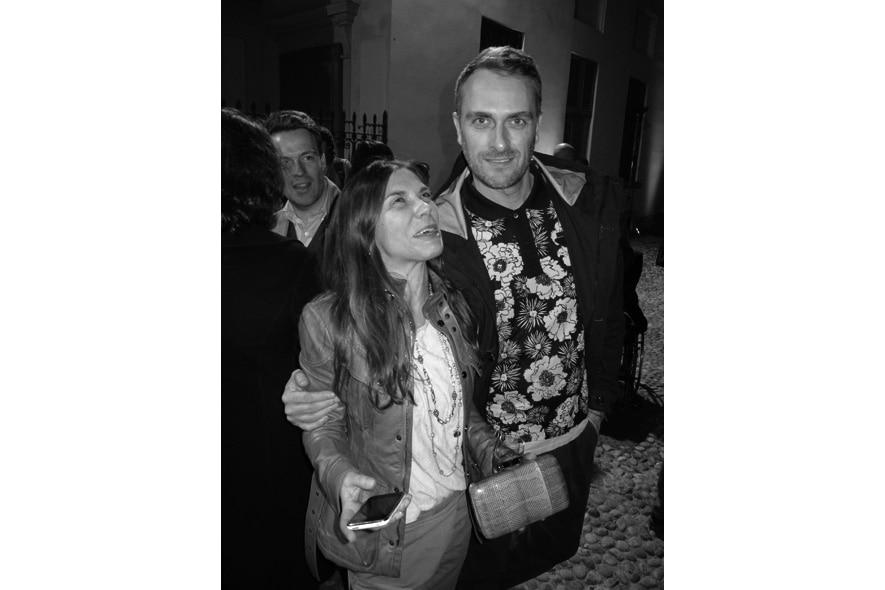 abramovic party Marco Braga , Annarita Celano