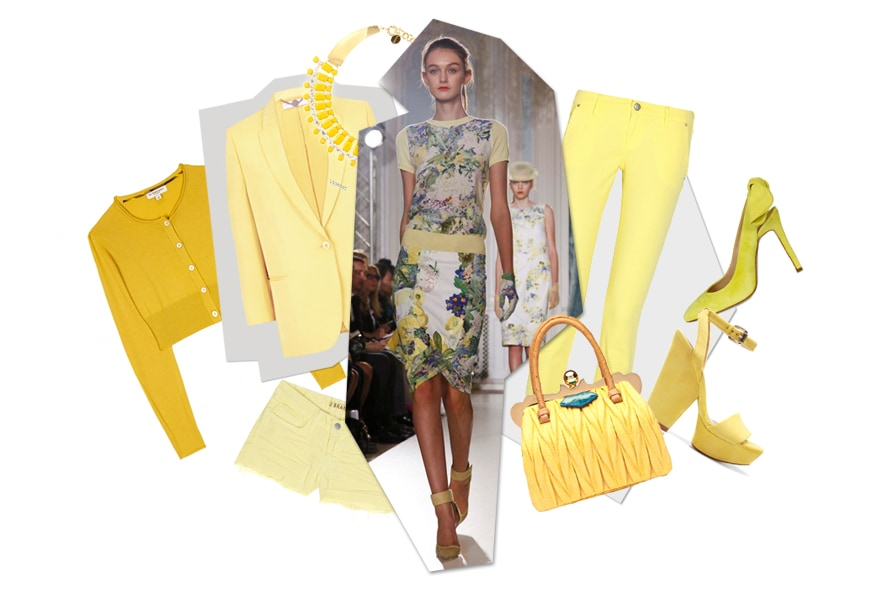 Top list: giallo mimosa