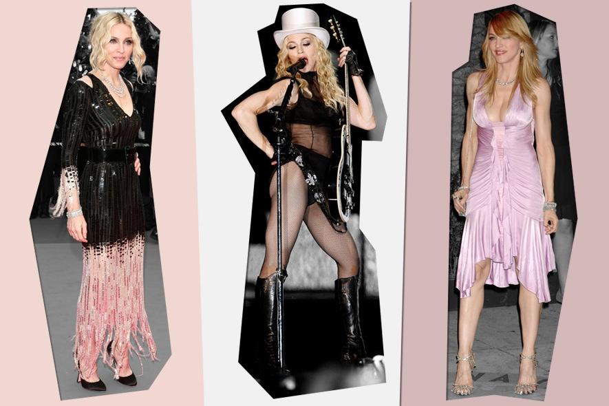 Madonna: style icon dalle mille vite.