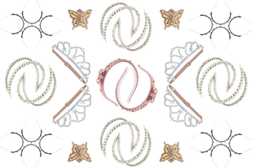 Accessori per capelli: cerchietti e tiare per una primavera romantica