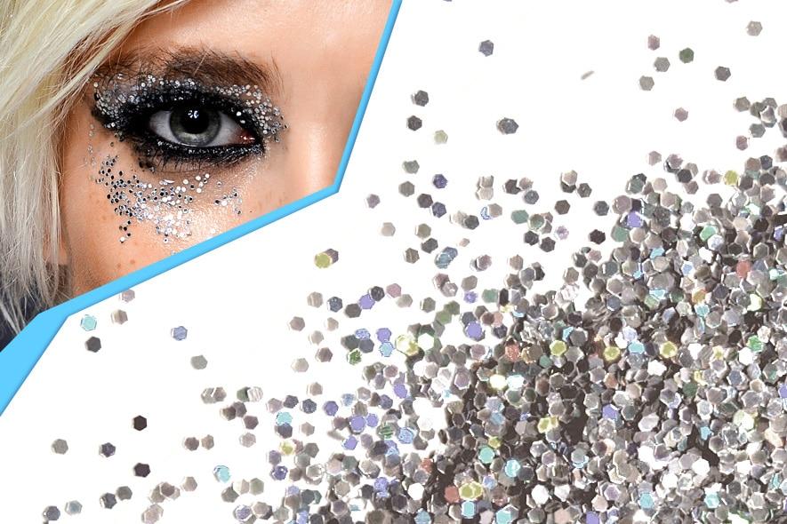 Make up glitter il trucco che illumina