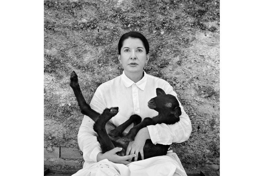 12 Portrait with black lamb copy