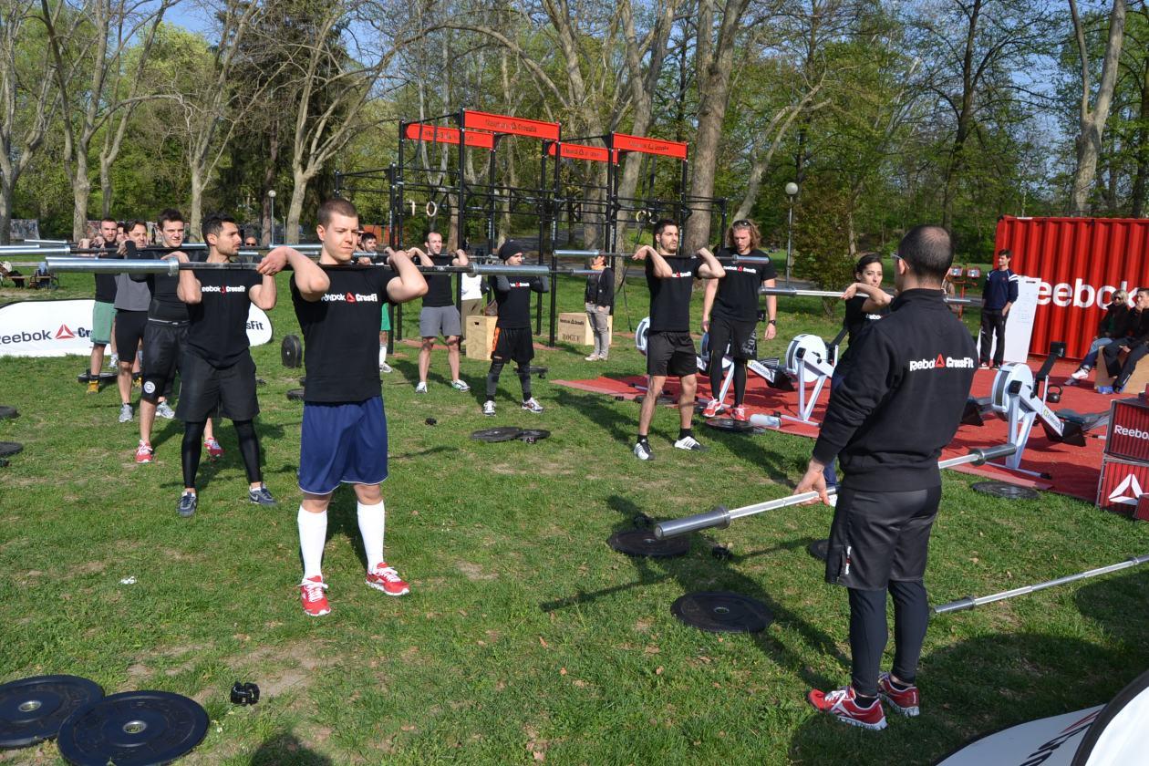 7 Park Tour Reebok: anche Parma si allena col Crossfit
