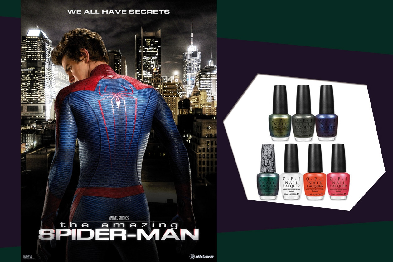 "Bellissimo il blu Into the Night di Opi ispirato al film ""The Amazing Spider-Man"""