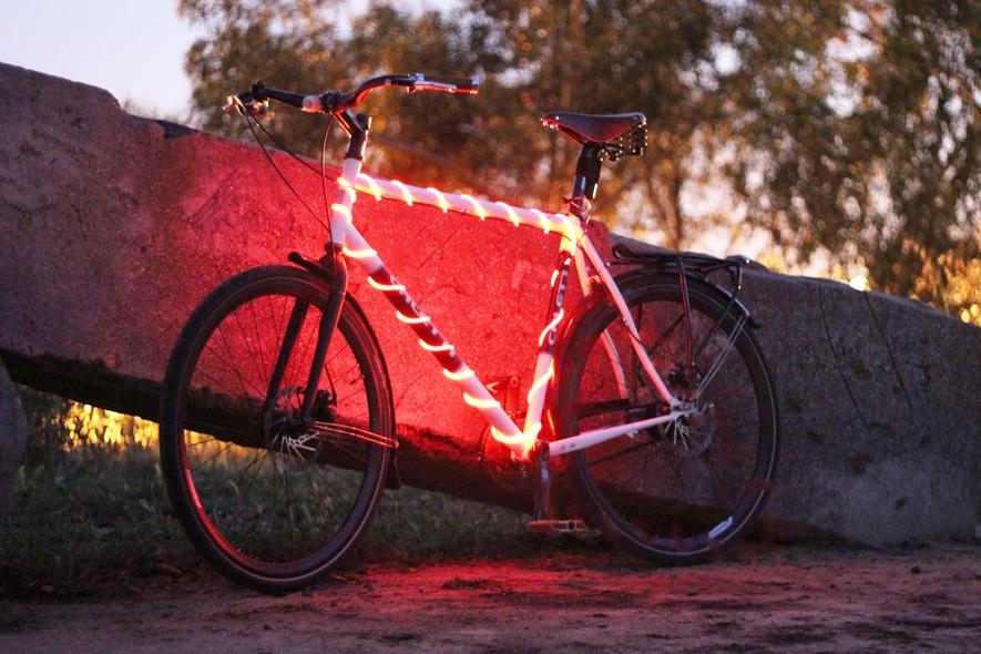 Bike Glow in the night