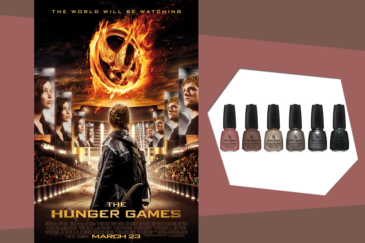 Capitol colours: dodici nuance vibranti dedicate al film The Hunger Games