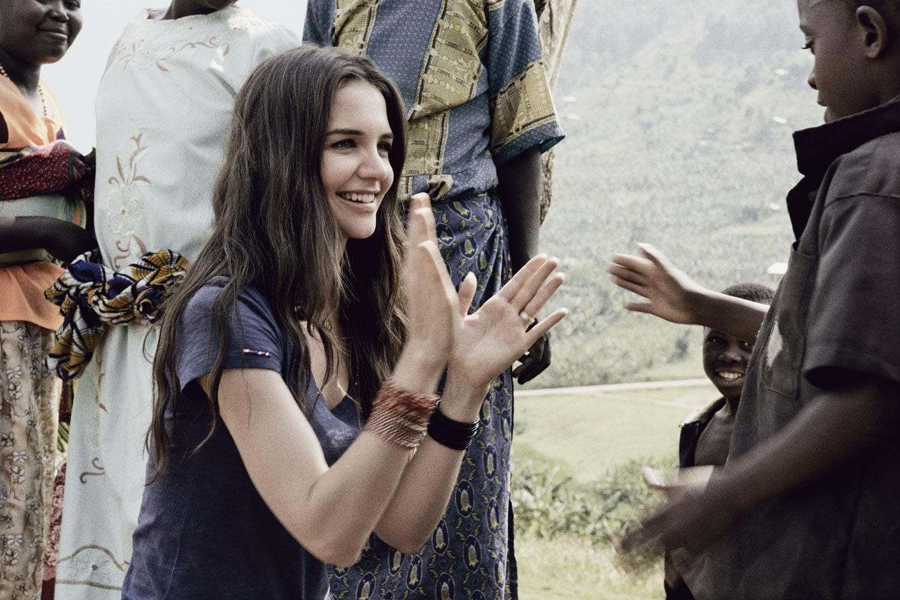 Katie Holmes ambasciatrice dell'iniziativa e volto di The Promise Collection