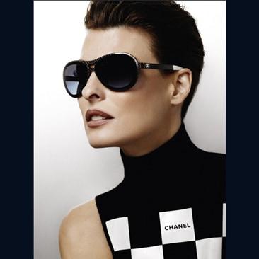 Linda Evangelista per Chanel Eyewear