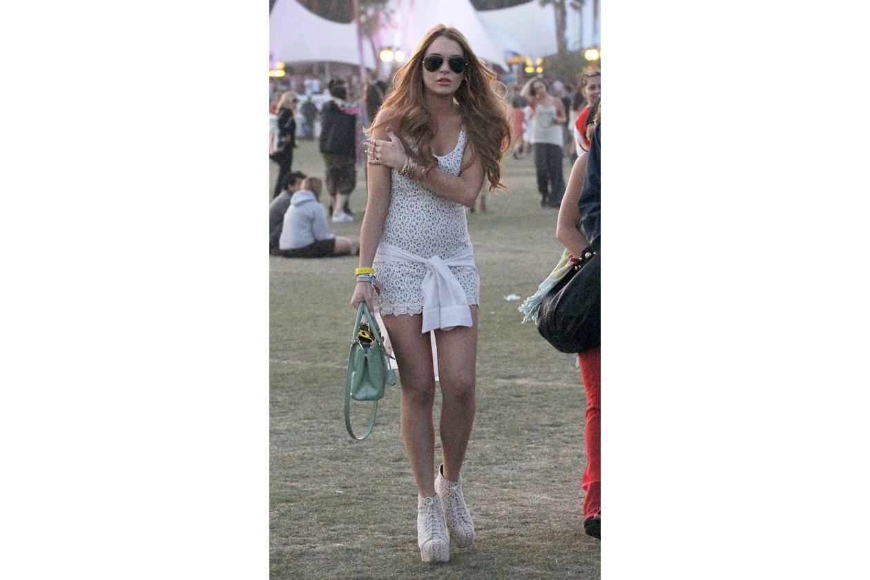 Lindsay Lohan coachella