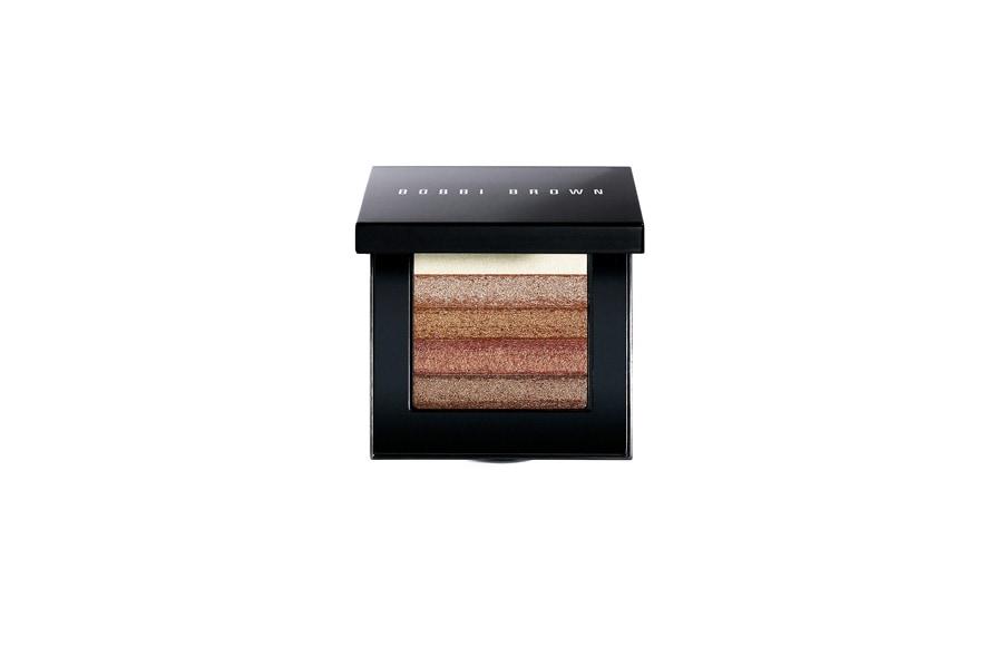 Mai più senza: lo Shimmer Brick Compact di Bobbi Brown con ben cinque diversi colori