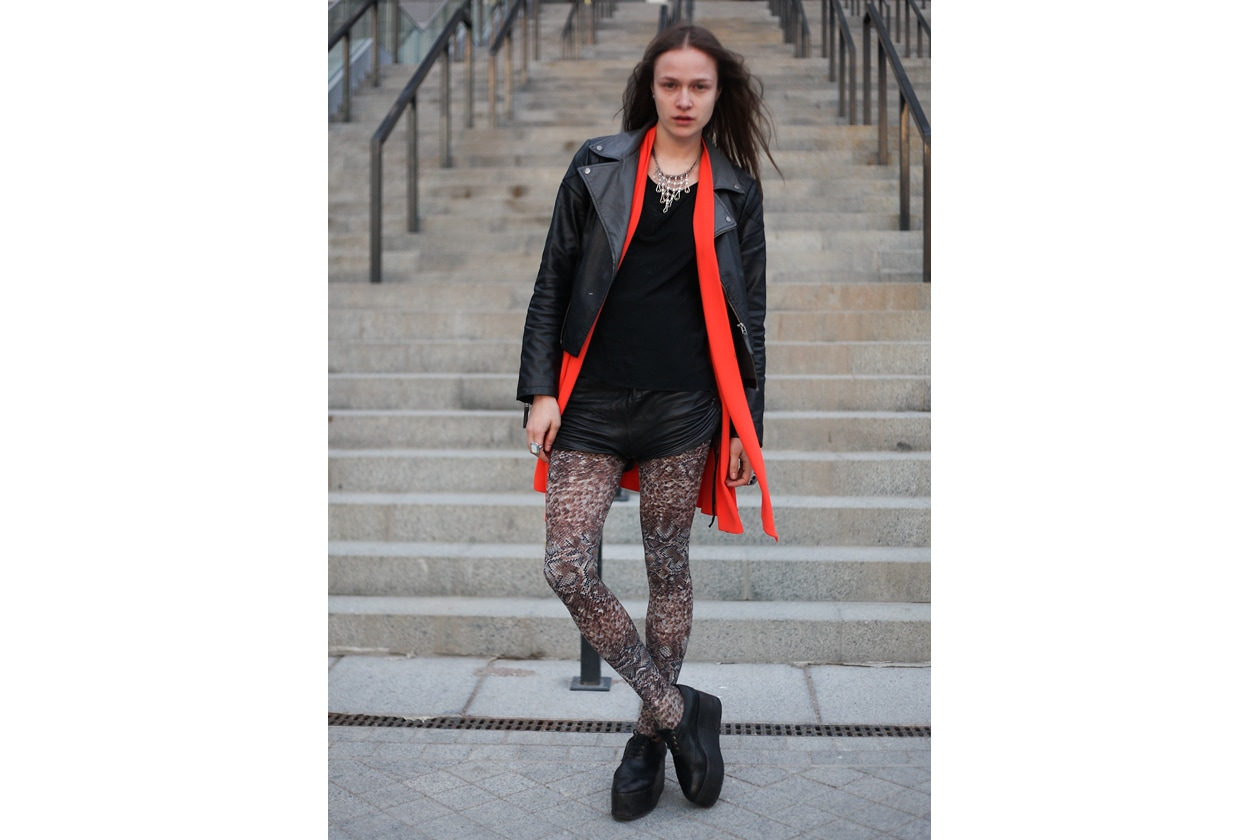 Mercedes Benz Kiev Fashion Days 22nd 25th of March 2012 streetstyle 16