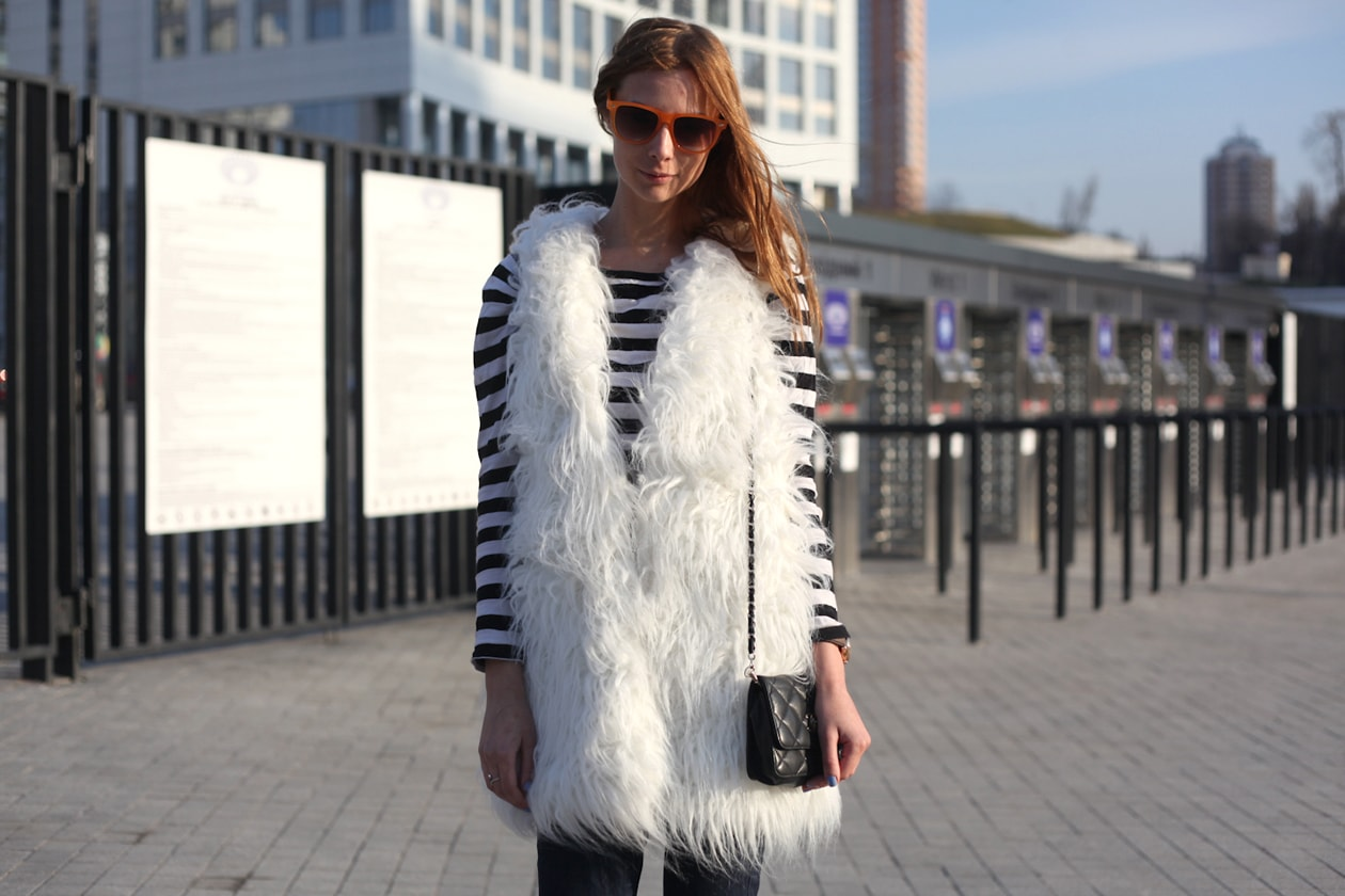 Mercedes Benz Kiev Fashion Days 22nd 25th of March 2012 streetstyle 28