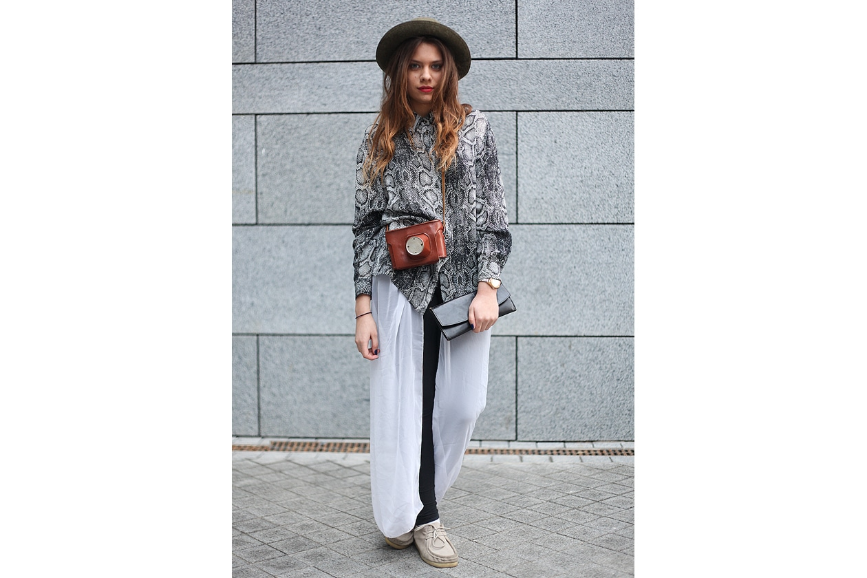 Mercedes Benz Kiev Fashion Days 22nd 25th of March 2012 streetstyle 9