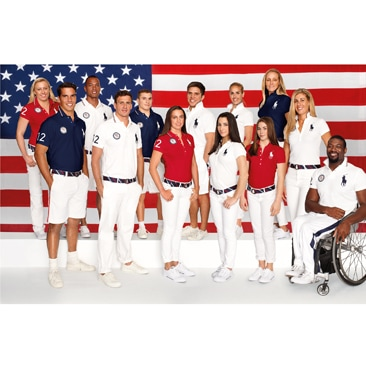 Ralph Lauren veste gli atleti americani