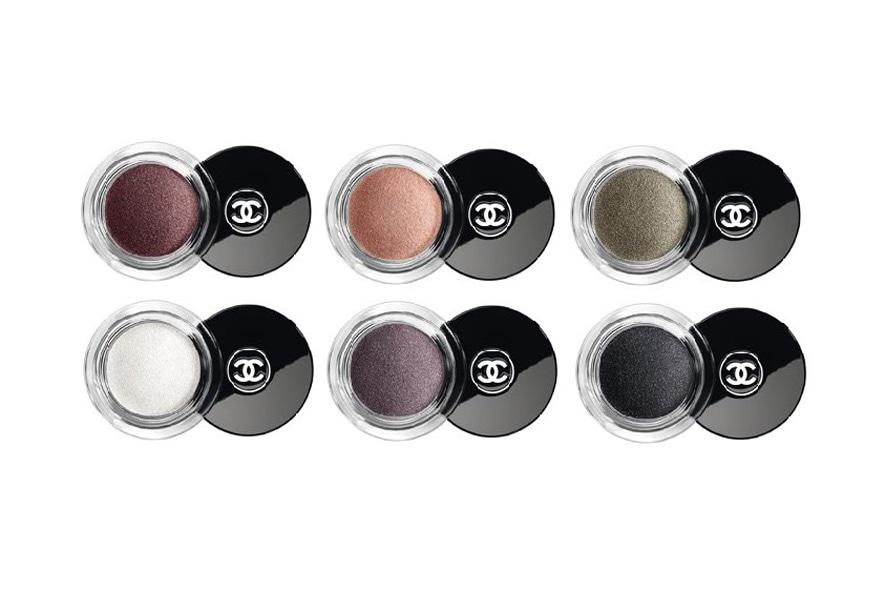 Sfumature cangianti e luminose per le sei nuance di Illusion d'Ombre di Chanel