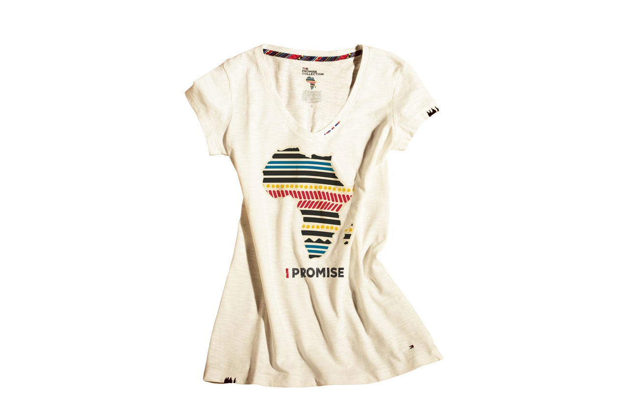 T-shirt African Continent Tommy Hilfiger