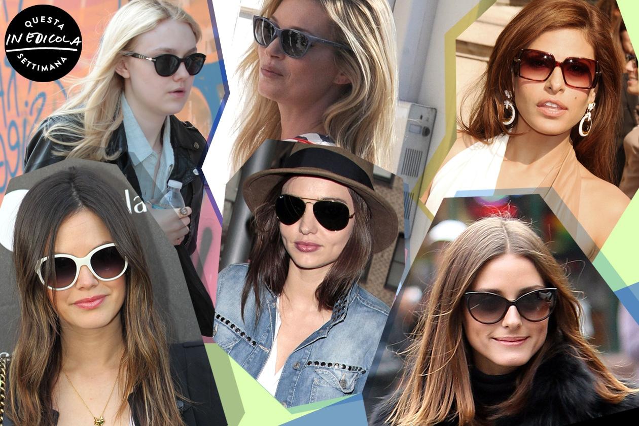 Occhiali da sole: ecco le scelte delle celebrities!