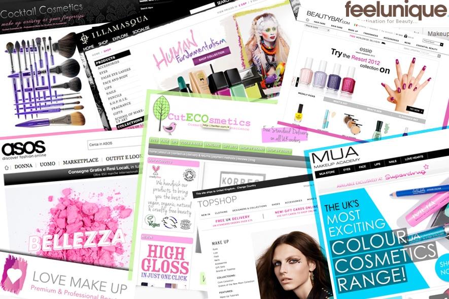 Make up shop online: comprare make up non è mai stato così semplice