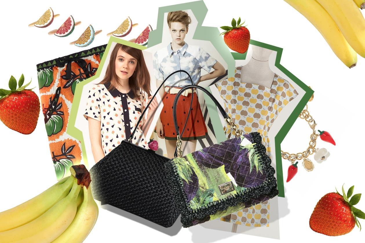 Trend: frutta su abiti e accessori per l'estate