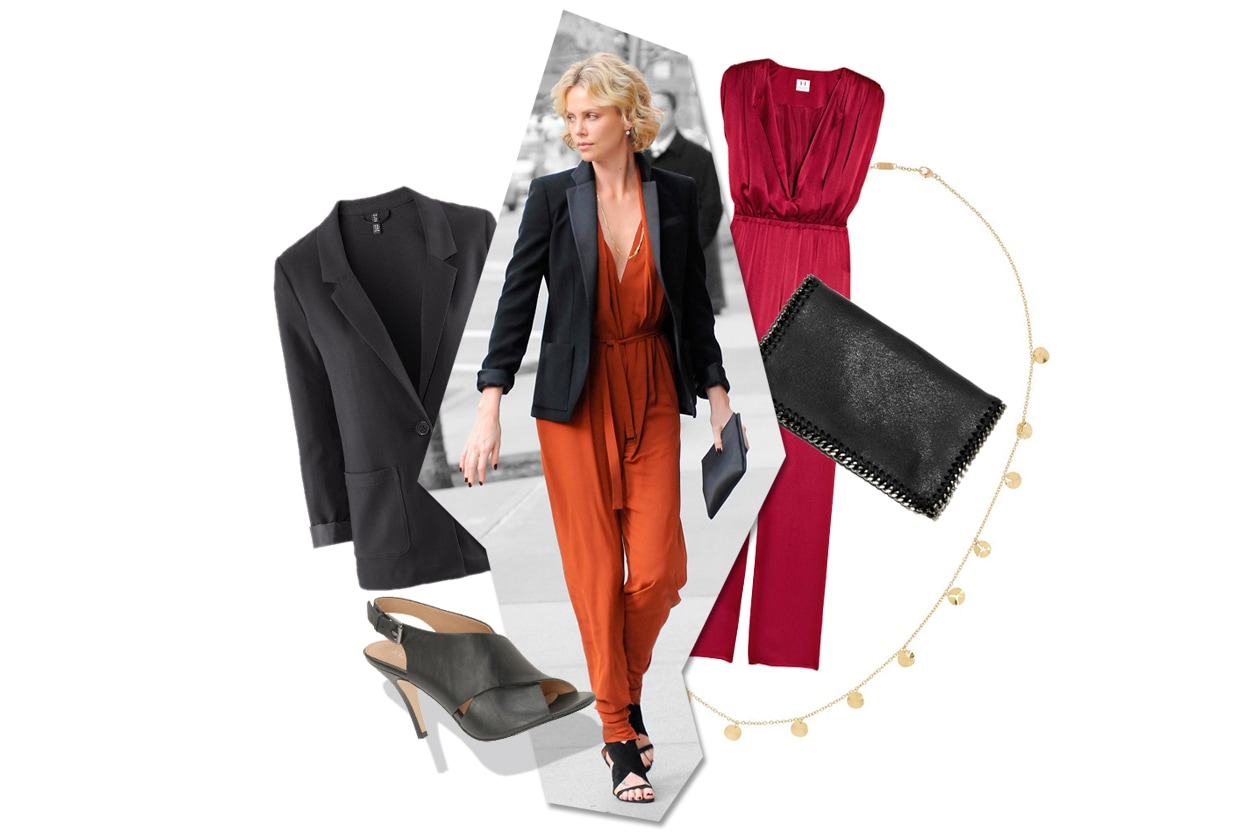 Get the look: Charlize Theron