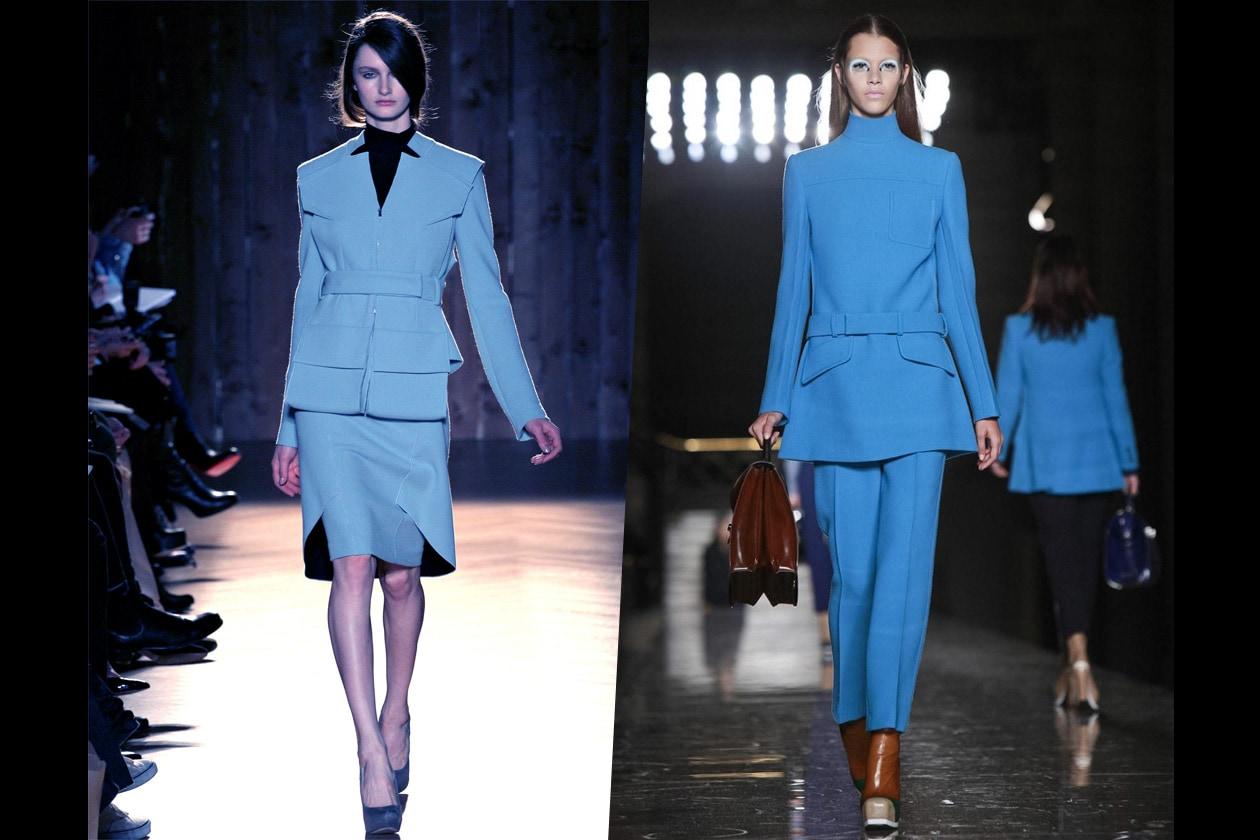 Anteprima A/I 2012-13: Tailleur Azzurri