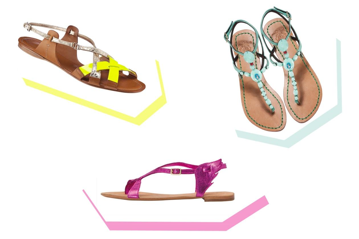 01 sandali flat dior ash maliparmi