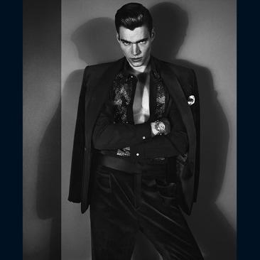 01A Versace Men's FW 2012 Philipp Schmidt Model