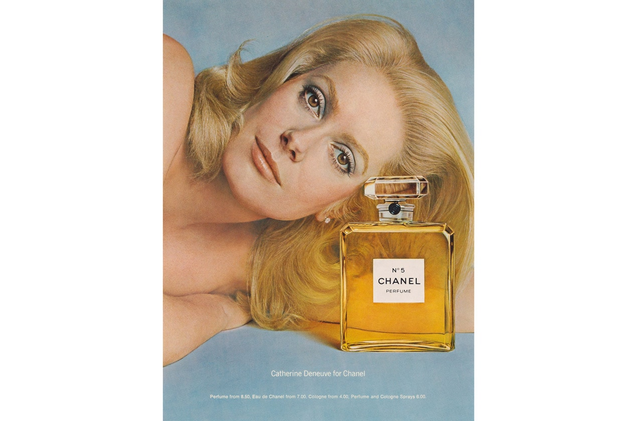 1973 Catherine Deneuve by Richard Avedon