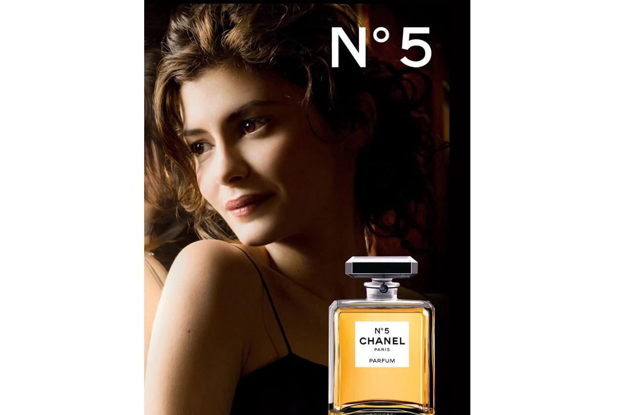 Audrey Tautou Chanel No5+3