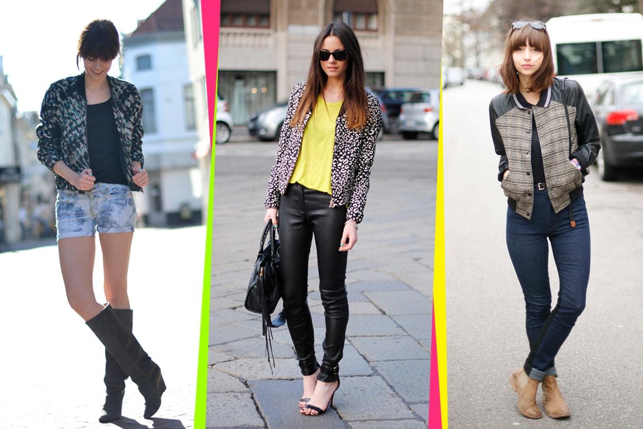 Trend: le fashion blogger indossano il bomber