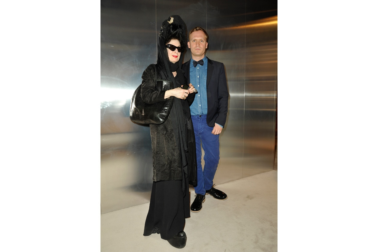 Diane Pernet and Thomas Persson