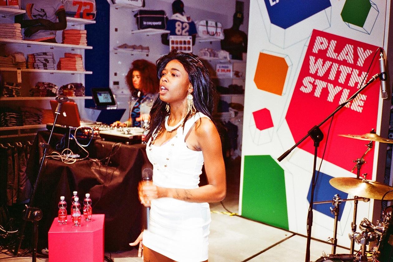 Dominique Young Unique live