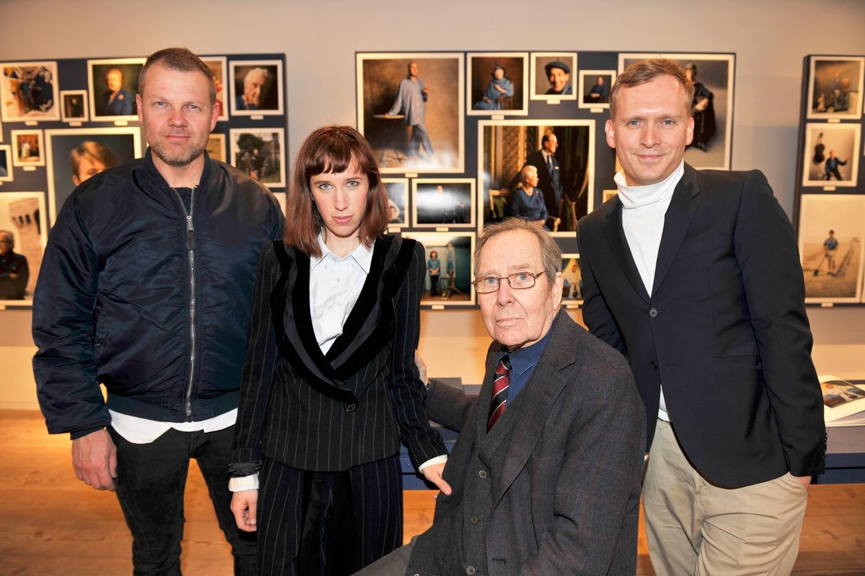 Jonny Johansson, Frances Von Hofmannsthal, Lord Snowdon, Thomas Persson
