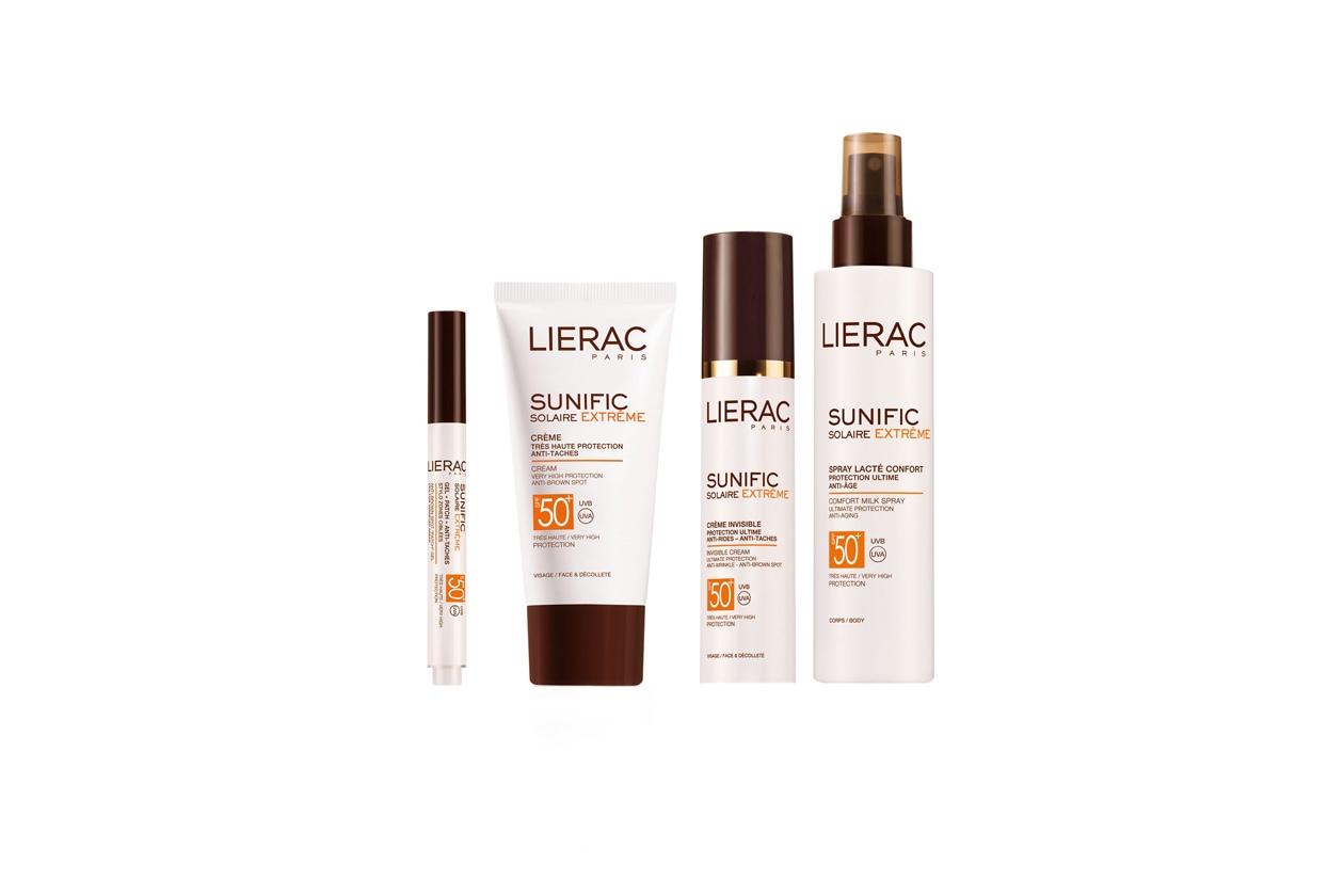 La linea Sunific Solaire Extreme di Lierac assicura la massima protezione con una performance anti-rughe