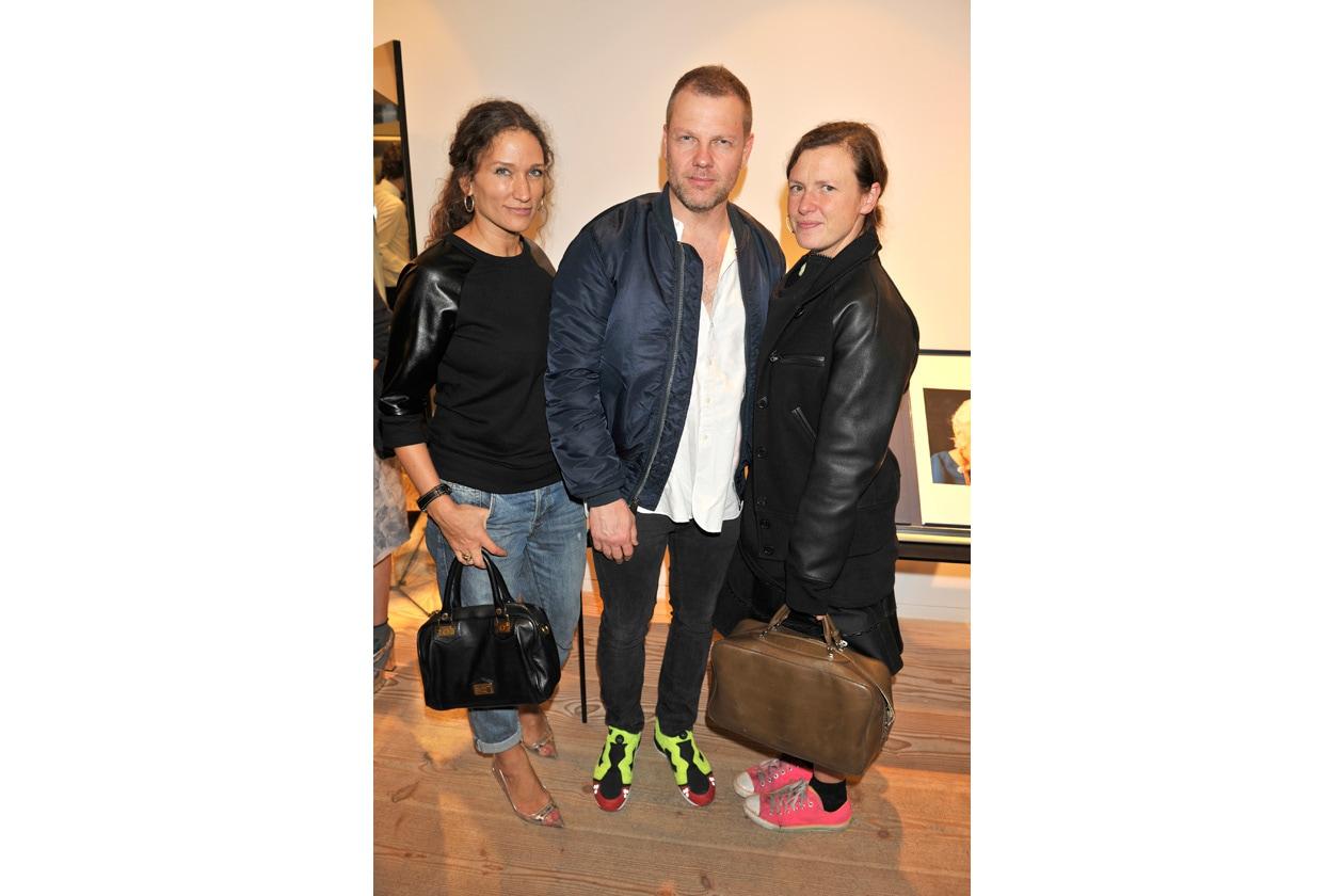 Lulu Kennedy, Jonny Johansson and Katie Grand