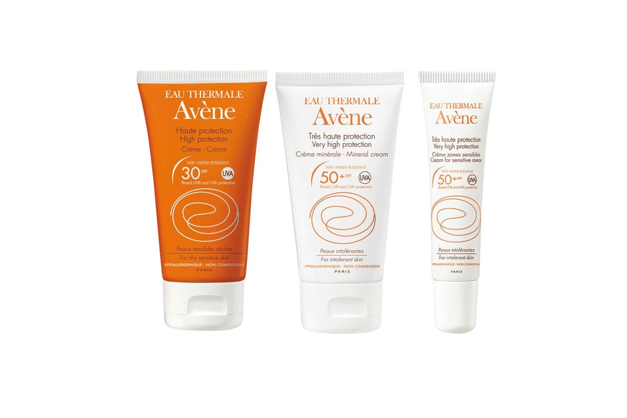 Pensata per le pelli più sensibili, la linea solari di Avène è ottima anche per i bambini