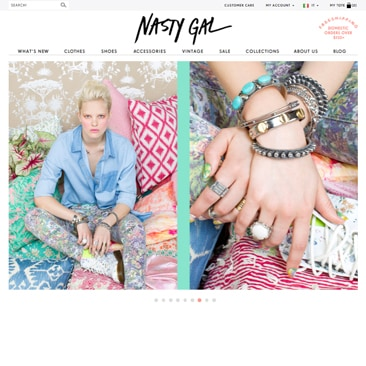 Pronte per lo shopping su Nasty Gal?