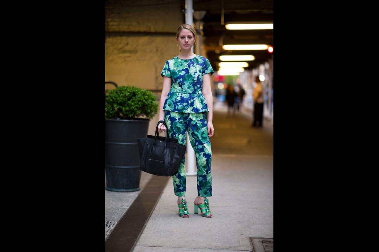 New York Street Style di primavera