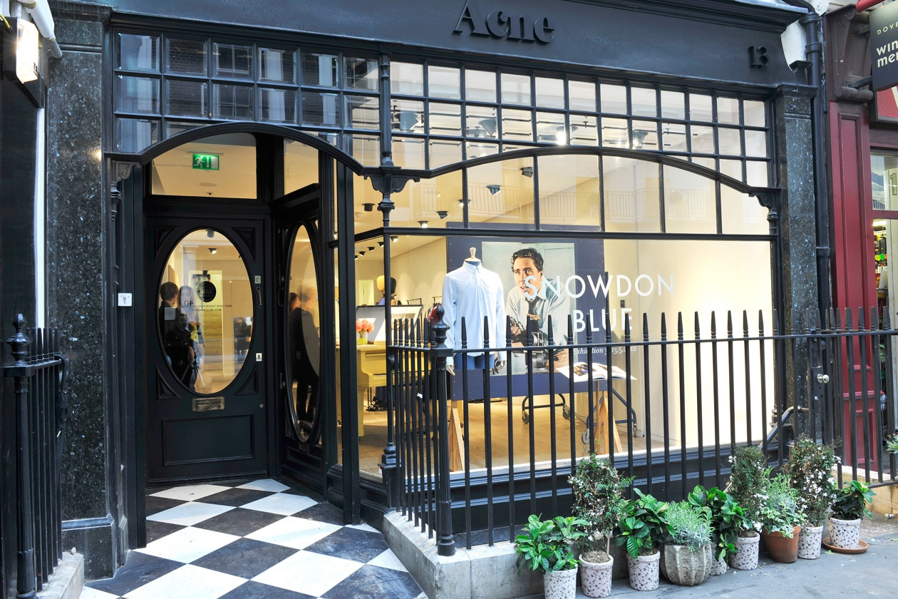 The ACNE Dover Street Store, London