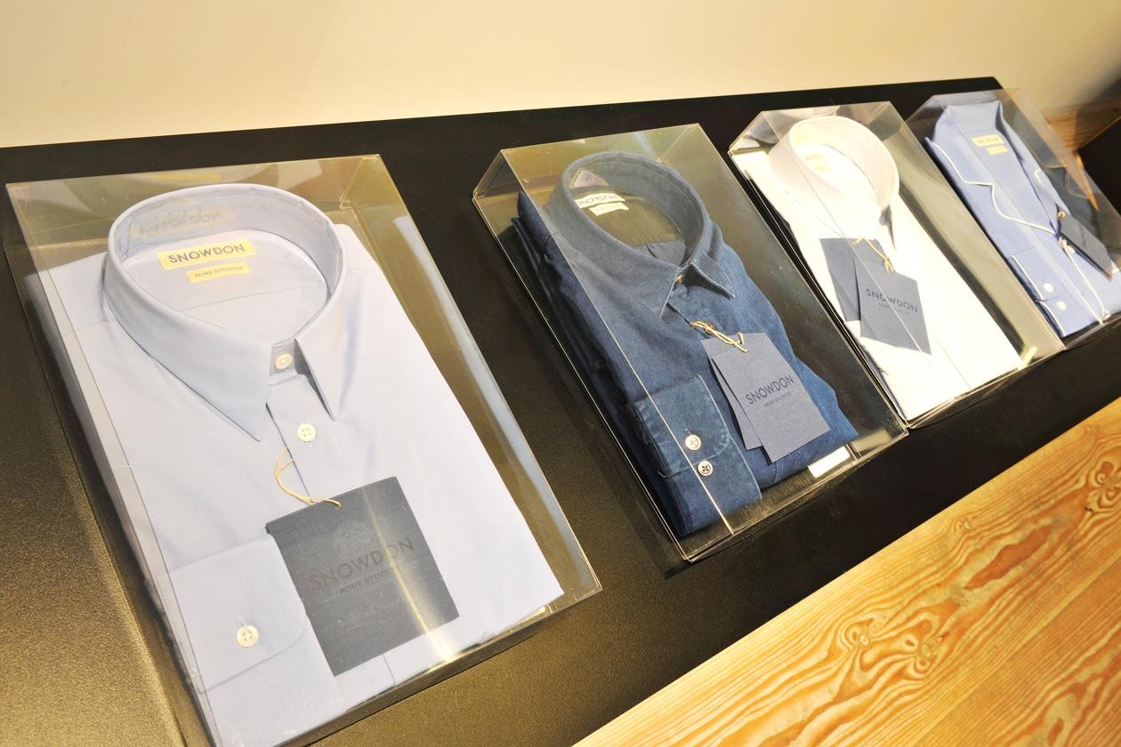 The ACNE Snowdon Blue Shirts